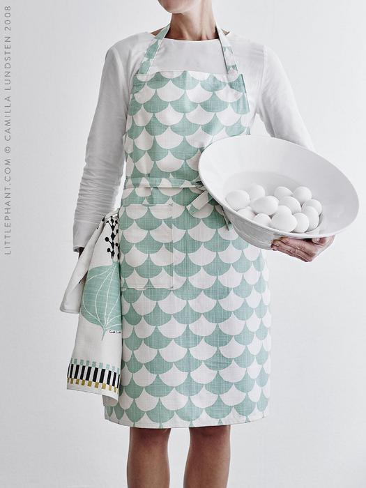 Kitchen textiles by Littlephant - Top Drawer 2019 - The UK's