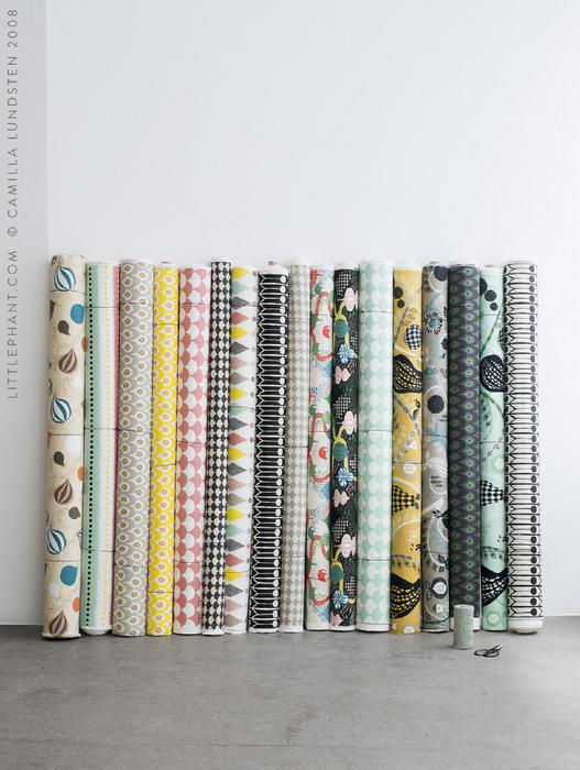 Interior fabrics by Littlephant - Top Drawer 2019 - The UK's leading