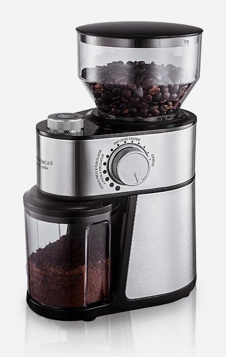 Andronicas Professional Coffee Bean Grinder Machine Top