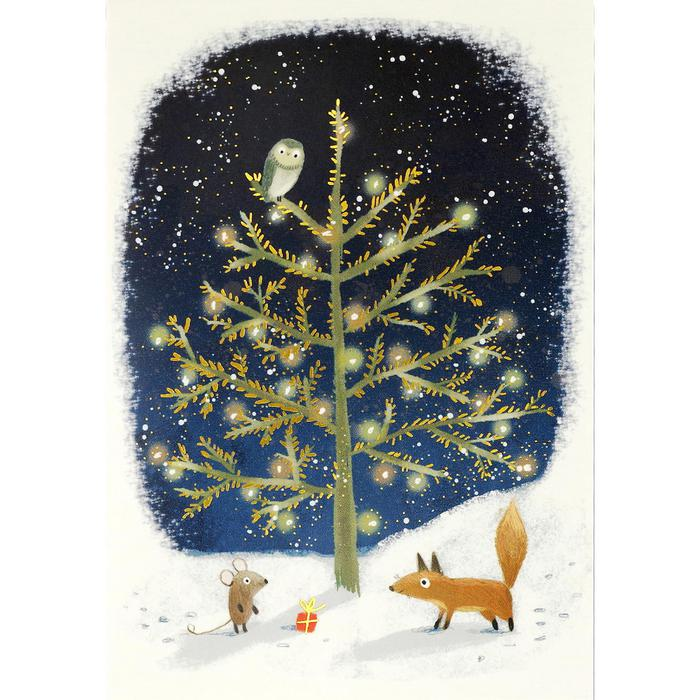 Unique Boxed Christmas Cards.Winter Tails Boxed Christmas Cards Top Drawer 2020 The