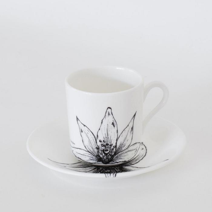 Fine Bone China Coffee Can & Saucer - Top Drawer 2019 - The