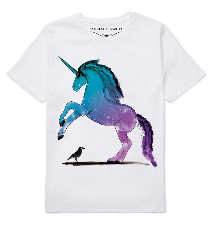 Unicorn & Crow T-Shirt - Top Drawer 2019 - The UK's leading